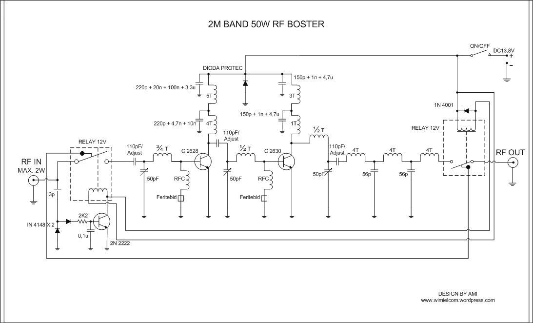 Booster Pemancar FM 100 Watt & Booster HT (Handy Talky) 50 Watt