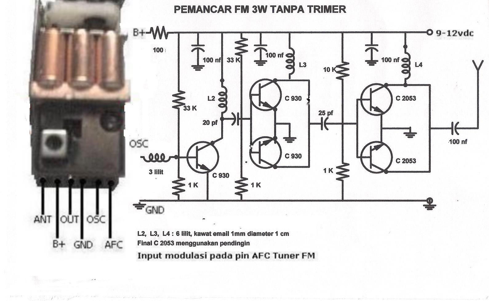 Membuat osilator pemancar fm dari blok tuner radio ccuart Image collections