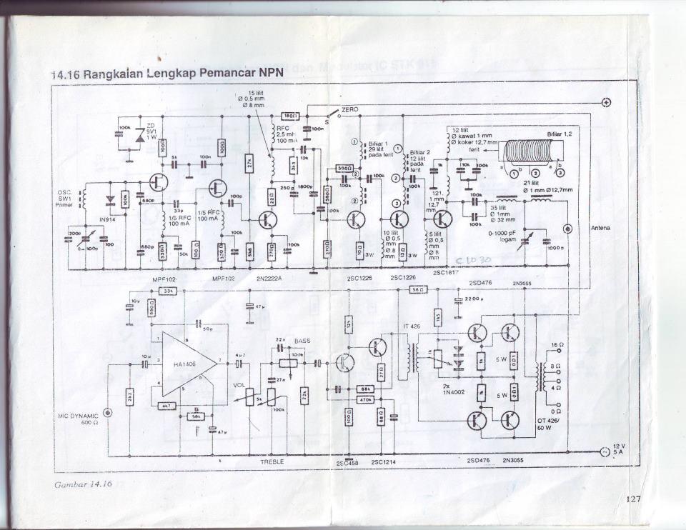 kumpulan skema elektronika radio komunikasi