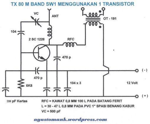 TX 80 Meter band 1 TR