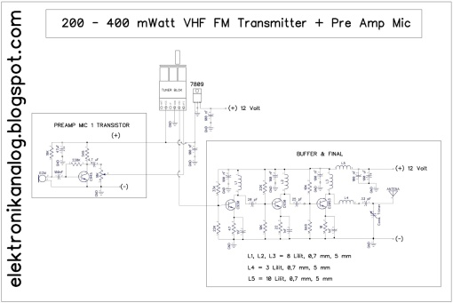 TX+preamp mic1